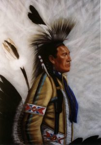 Red Elk (Lakota Sioux) |  Won Best of Show Cody Country Art League